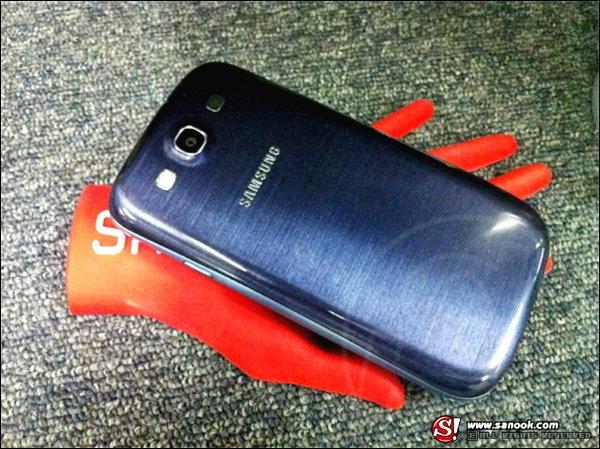 สัมผัสแรกกับ Samsung Galaxy S3