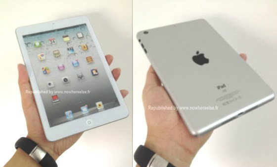 ภาพหลุด iPad mini โผล่บล็อกฝรั่งเศส