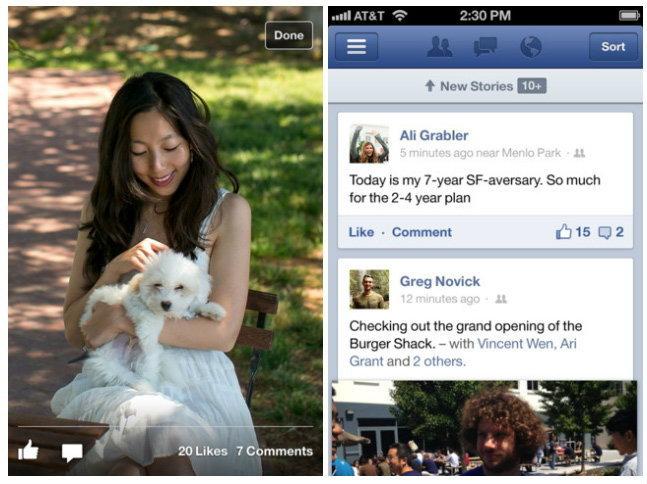 App Facebook สำหรับ Android และ iOS อัปเดตแล้วจ้า
