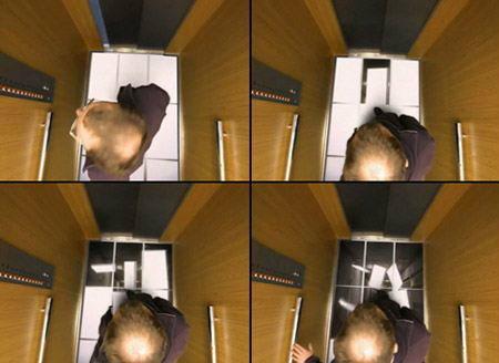 """ช็อค!!! เมื่ออยู่ดีๆ พื้น""""ลิฟต์""""ทะลุซะงั้น"""