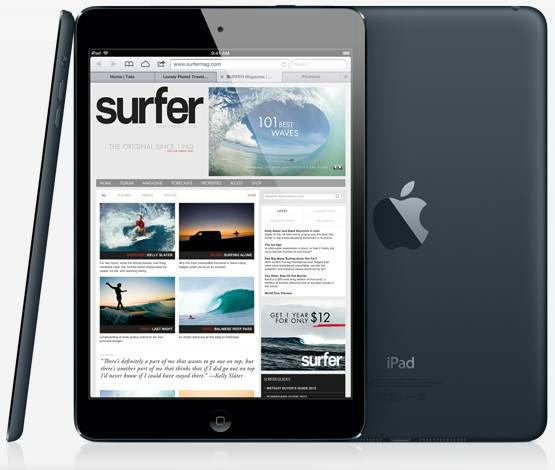 """อุ๊ปส์!!! จอ iPad Mini สู้""""คู่แข่ง""""ไม่ได้"""