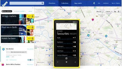 "Nokia เปิดบริการใหม่ ""Here"" ระบบแผนที่รุกตลาด ios & android"