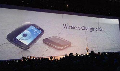 Galaxy S4 อาจมาพร้อมการชาร์จไร้สาย