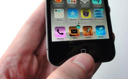iPhone 5s,6 จะมีระบบสแกนลายนิ้วมือ