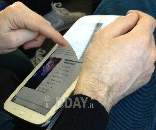 Samsung Galaxy Note 8.0 ภาพหลุด !! ก่อนเปิดตัวในงาน MWC 2013