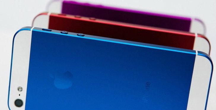 ข่าวล่ามาแรงว่า iPhone 5S จะมาในแบบหลายสี