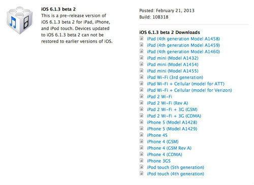 Apple โว! iOS 6.1.3 กันเจลเบรคได้