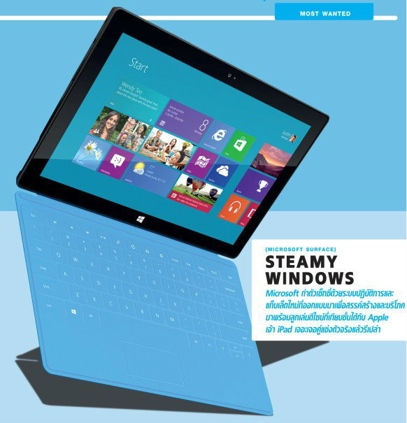 MICROSOFT SURFACE {STEAMY WINDOWS}