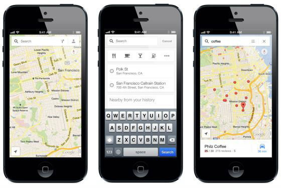 Google Maps บน iPhone หาเพื่อนเจอ