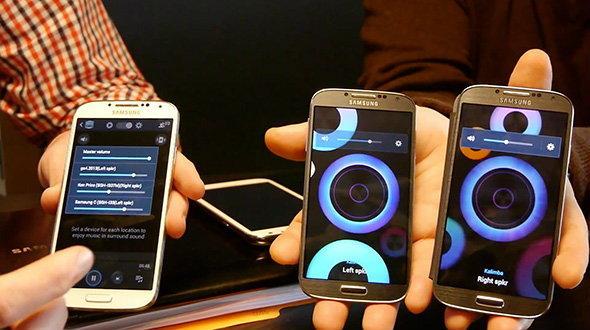 เผยคลิปวีดีโอ โชว์การใช้งานฟีเจอร์ Group Play บน Samsung Galaxy S4