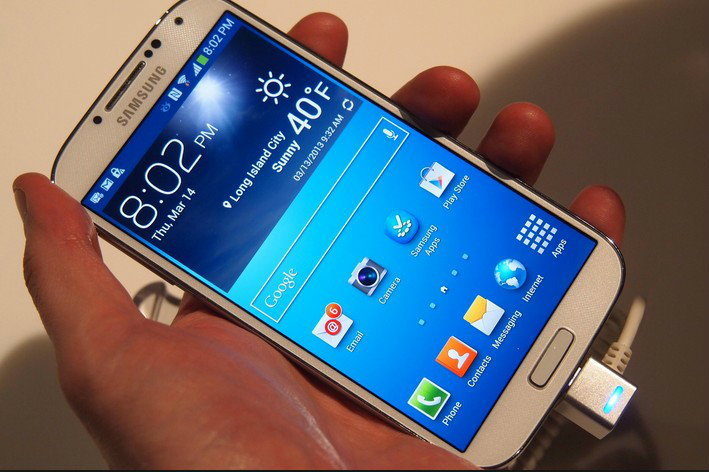 Samsung เคาะราคา  Galaxy S4 แล้ววันนี้