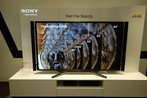 Sony เตรียมใช้จอ 4K ใน Xperia รุ่นใหม่