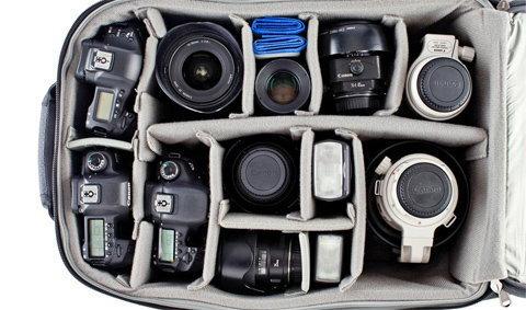 เทคนิคจัดกระเป๋ากล้องแบบมือโปร