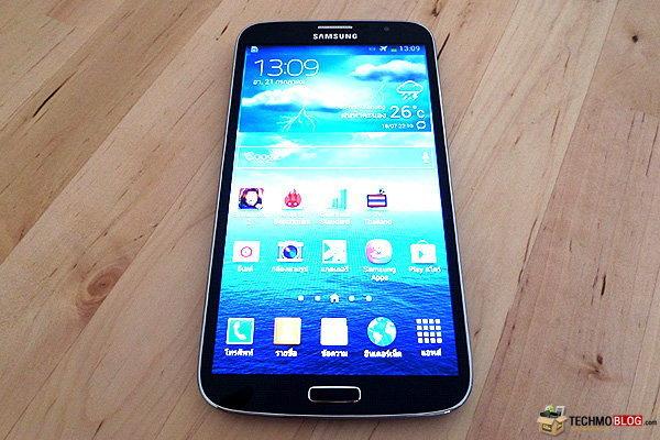 [รีวิว] Samsung Galaxy Mega 6.3 สมาร์ทโฟนระดับกลาง ที่มาพร้อมหน้าจอขนาดใหญ่ 6.3 นิ้ว