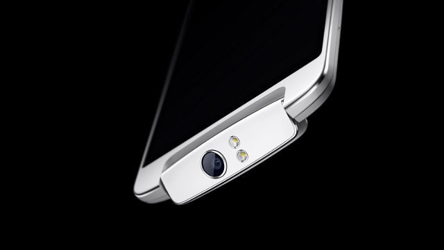 Oppo N1 มือถือเน้นกล้อง หมุนได้ด้วย