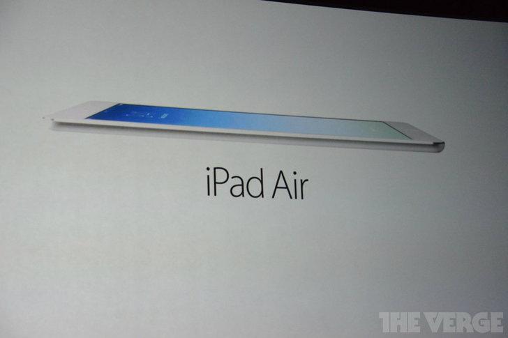 เปิดตัว iPad Air แท็บเล็ตที่บางที่สุดในโลก!!