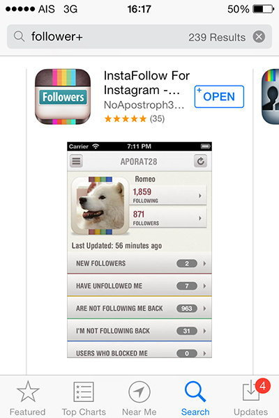 "InstaFollow แอพที่คุณจะรู้ได้ทันทีว่า ""ใคร"" บังอาจบล็อค IG คุณอยู่ !!!"