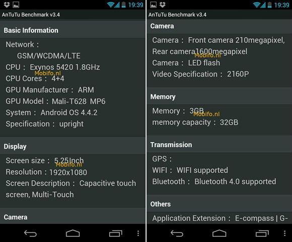 มาแล้วผลการทดสอบ AnTuTu ขอบ Samsung Galaxy S5
