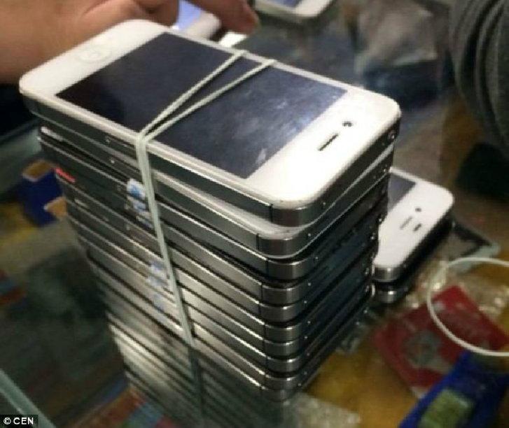 """แฉจะจะ จีนแสบมาก นำเข้าไอโฟนเครื่องเก่าเป็นเครื่องใหม่""""ย้อมแมว"""" ขายลูกค้าเป็นล่ำเป็นสัน (ชมภาพ)"""