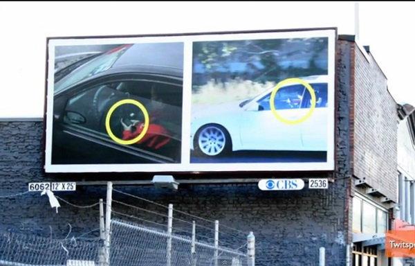ระวัง! เล่นโทรศัพท์ขณะขับรถ อาจถูกจับประจานบนบิลบอร์ด!