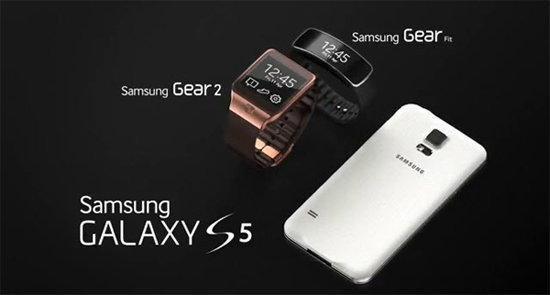 Clip Samsung GALAXY S5, Gear 2, Gear Fit ใหม่ล่าสุดกับหลายฟีเจอร์โดนใจคุณ