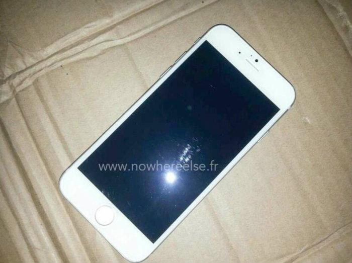 หลุด!!! โมเดลตัวเต็ม iPhone 6