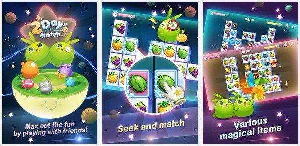 """เกมส์ """"2Day's Match"""" เกมส์จับคู่ลุ้นท้าประลองความเร็ว เอ้า จิ้มๆ"""
