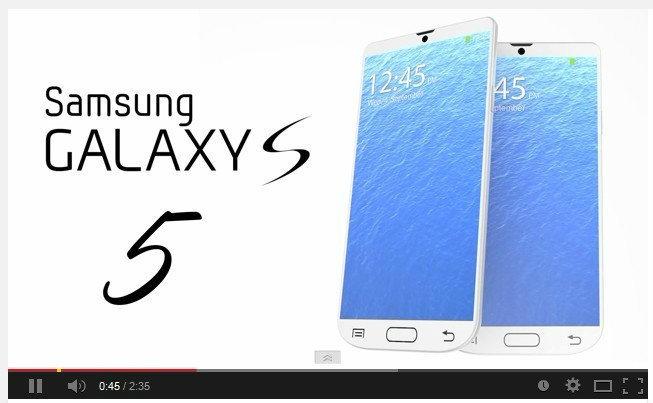 รวม Concept Samsung GALAXY S5 ไว้ที่นี่