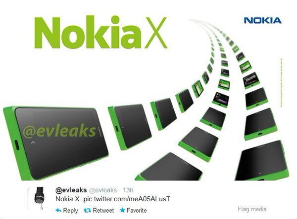 มาแน่!! Nokia X สีเขียว กระจายว่อนเน็ต!