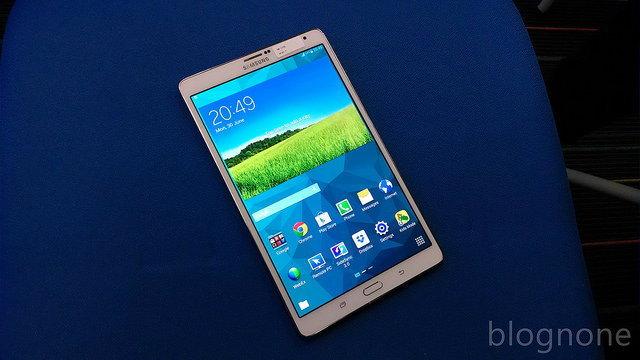 ครั้งแรกกับการ!! ลองจับ Samsung Galaxy Tab S