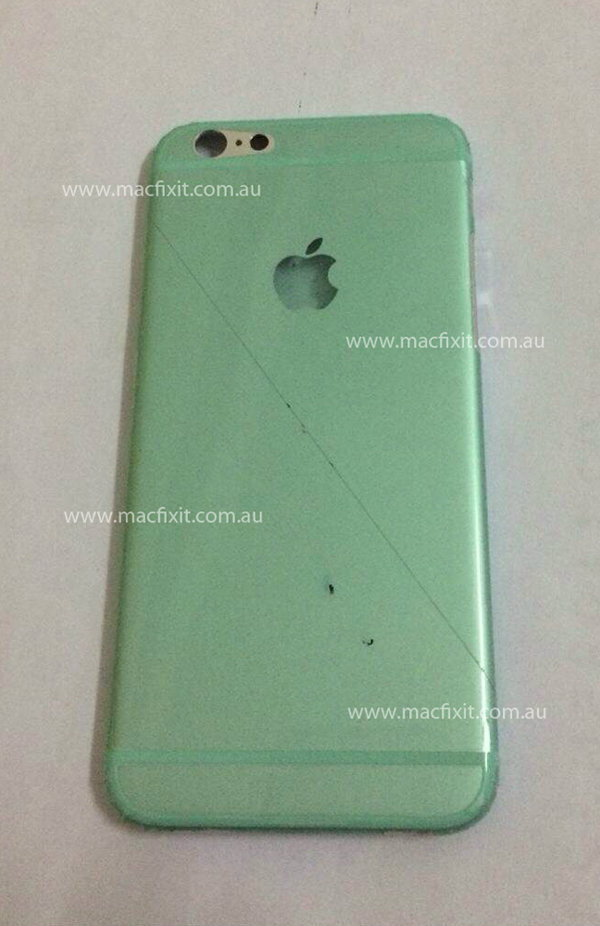 หลุด!!ภาพล่าฝาหลัง iPhone 6 สีเงินขนาด 4.7 นิ้วใหม่ล่าสุด