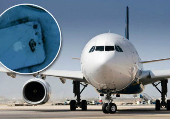 ไม่แพ้กัน! iPhone 5 ระเบิดบนเครื่องบิน ผู้โดยอพยพกันอลหม่าน