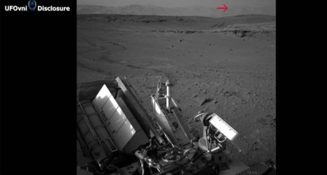 อึ้ง!! นักสำรวจบนดาวอังคารจับภาพ UFO ได้?