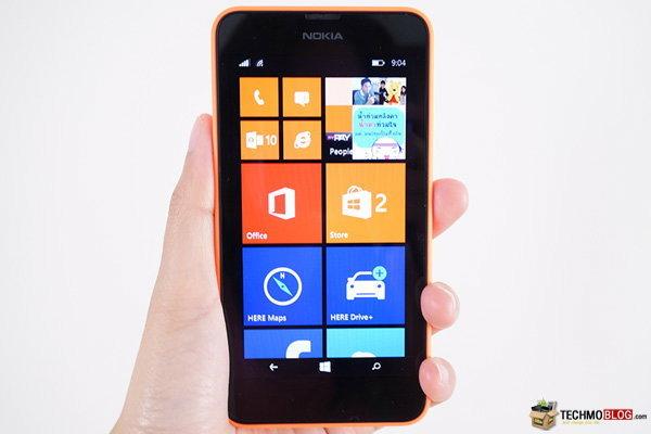 [รีวิว] Nokia Lumia 630 วินโดวส์โฟนราคาประหยัด