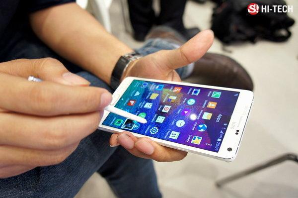Preview:  ครั้งแรกกับพรีวิว Galaxy Note 4 ของจริงตัวเป็นๆ