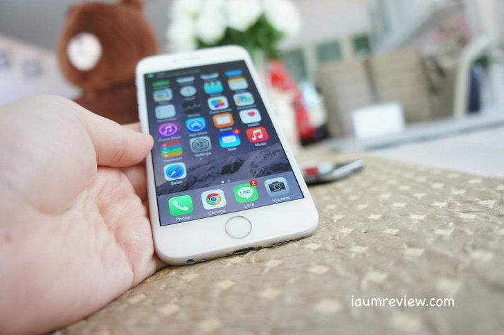 รีวิว iPhone6 จัดเต็มแบบไทยไทย : ไอโฟนใหม่ มันใหญ่ดีนะ