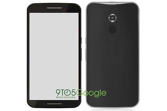 ภาพหน้าตาของมือถือที่คาดว่าจะเป็น Nexus 6 ที่ทำโดย Motorola