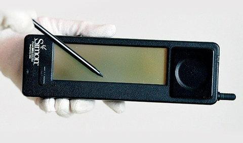 สมาร์ทโฟนเครื่องแรก อายุ20ปีแล้ว