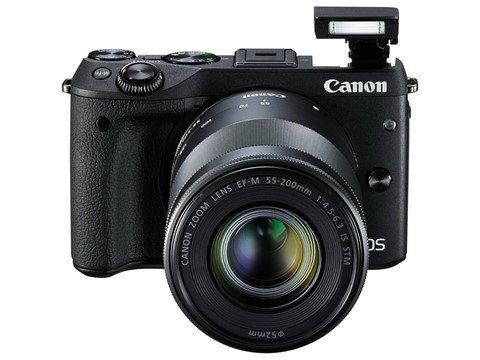 กล้อง Canon EOS M3 รุ่นใหม่สุดคูล ครั้งแรกกับแฟลช POP UP ในตัว