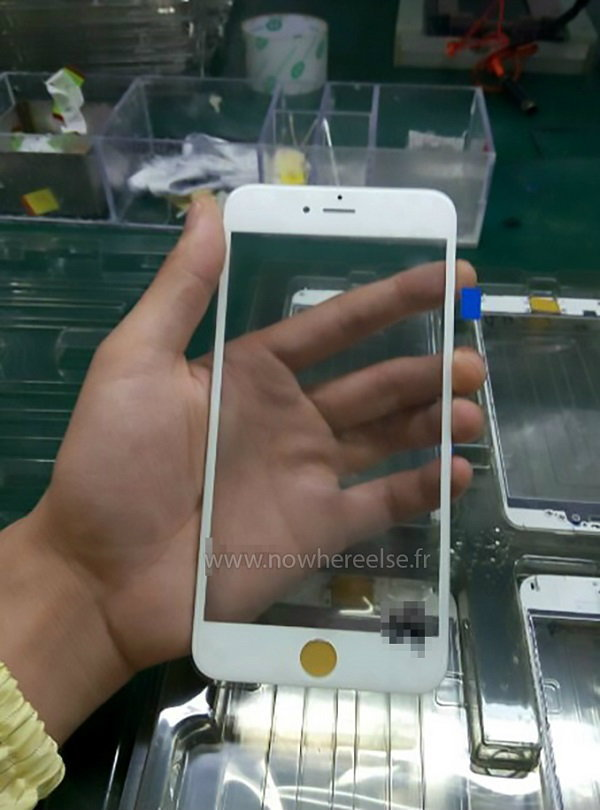 หลุดหน้าจอ iPhone 6S ส่งตรงจากโรงงานผลิต (คงไม่หนีจากนี้)