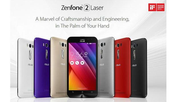 ASUS เปิดตัว Zenfone 2 Deluxe สุดหรู และ Zenfone 2 Laser กล้องโฟกัสไว