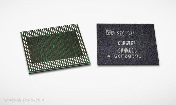 Samsung เปิดตัว RAM LDDR 4 รุ่นใหม่ สามารถสร้างความจุได้มากถึง 6GB