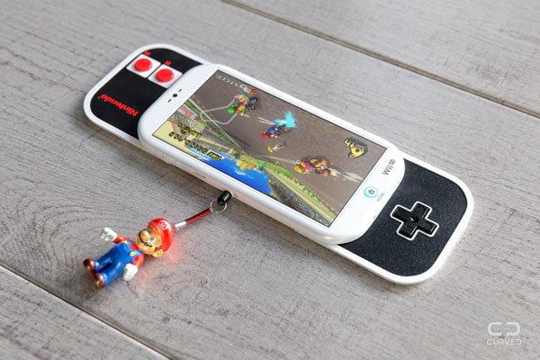 ภาพคอนเซปท์ Nintendo Wii M สมาร์ทโฟนเพื่อชาวเกมเมอร์ สะดวกสุดๆ พร้อมจอยเกมในตัว