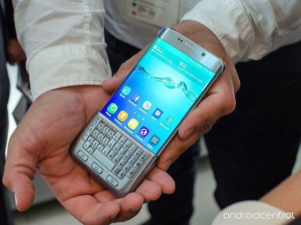 Samsung เปิดตัว Keyboard Cover เคสแป้นพิมพ์สำหรับ Galaxy Note 5 และ Galaxy S6 edge+