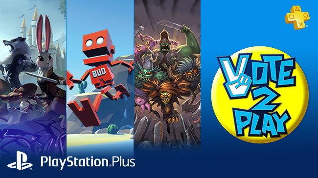 Sony เริ่มแคมเปญ Vote to Play เลือกเกมเล่นฟรีทุกเดือนสำหรับเกมเมอร์ PlayStation