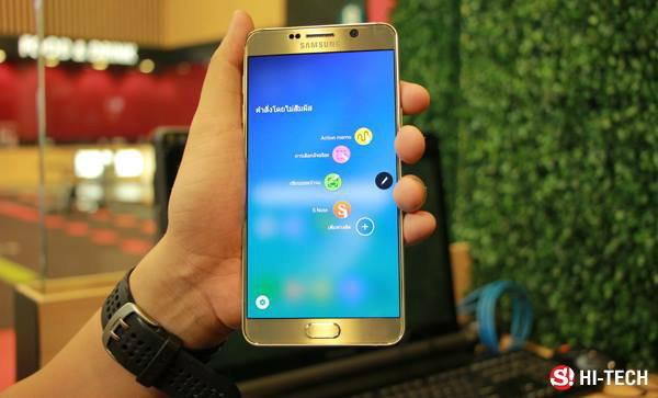 [รีวิว] Samsung Galaxy Note 5 กับ 1 สัปดาห์ เล่นทุกฟังก์ชั่น จัดเต็ม