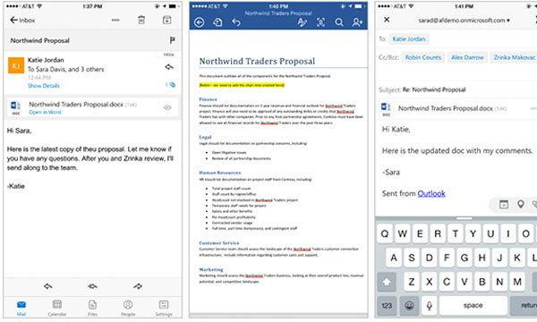 Microsoft เพิ่มการแก้ไข Office For iOS จาก Outlook for iOS ใช้งานได้แล้วตั้งแต่วันนี้