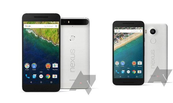 รวมภาพ Rander ของจริง LG Nexus 5x และ Huawei 6P ของใหม่ที่จะเปิดตัวในเร็ววันนี้