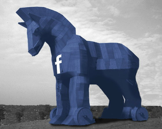 Malware ตัวใหม่ ในคราบม้าโทรจัน จ้องขโมยชื่อบัญชีผู้ใช้ Facebook