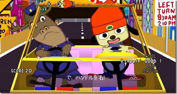 เทียบกันชัดๆเกม PaRappa the Rapper บน PS4 กับต้นฉบับบน PS1